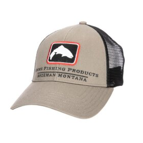 Simms Trout Icon Trucker Tan