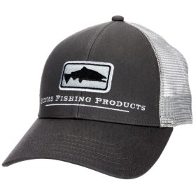 Simms Salmon Icon Trucker Fiskecap