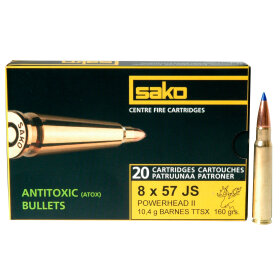 8x57 ammunition Sako powerhead