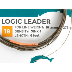 SalmoLogic - Coated Leaders 18g. S4