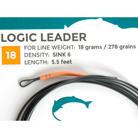 SalmoLogic - Coated Leaders 18g. S.6