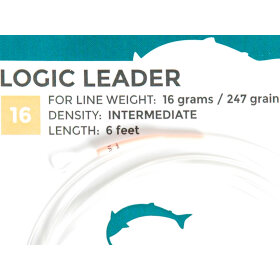 SalmoLogic - Coated Leaders 16g.I Leader Intermediate